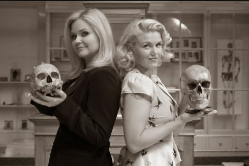 Dr. Lindsey Fitzharris & Carla Valentine, curators of Death Salon UK